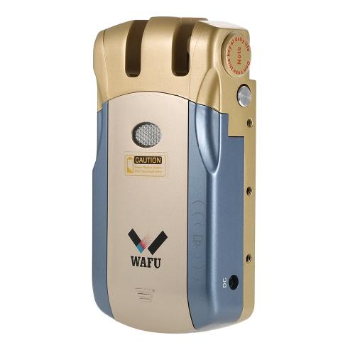 WAFUワイヤレスセキュリティインビジブルキーレスエントリードアロックホームスマートリモートコントロールロック4つのリモートキー
