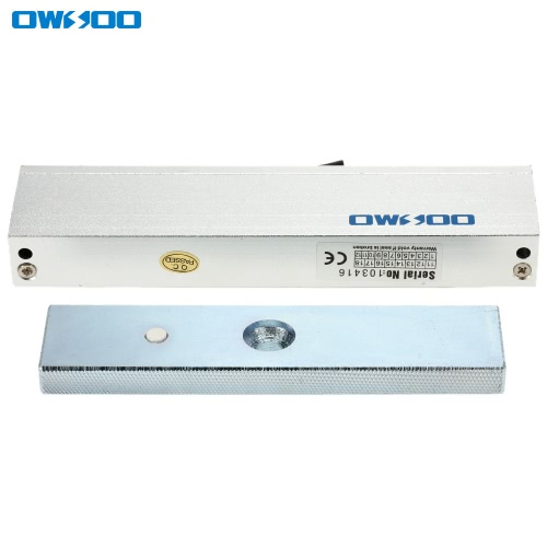 OWSOO  180KG 350lbs Holding Force Electric Magnetic Lock For Door Access Control System Electromagnet Fail-Safe NC ModeSmart Device &amp; Safety<br>OWSOO  180KG 350lbs Holding Force Electric Magnetic Lock For Door Access Control System Electromagnet Fail-Safe NC Mode<br>