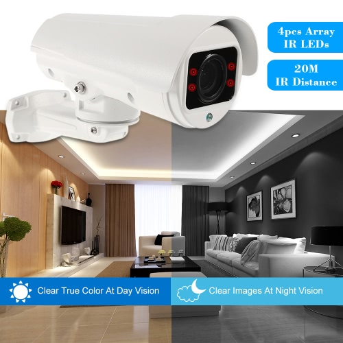 "KKmoon  1080P HD Bullet PTZ CCTV Camera 2.8~12mm Auto-Focus Manual Varifocal Zoom Lens 2.0MP 1/3"" for Sony CMOS IR-CUT IP66 WeatheSmart Device &amp; Safety<br>KKmoon  1080P HD Bullet PTZ CCTV Camera 2.8~12mm Auto-Focus Manual Varifocal Zoom Lens 2.0MP 1/3"" for Sony CMOS IR-CUT IP66 Weathe<br>"