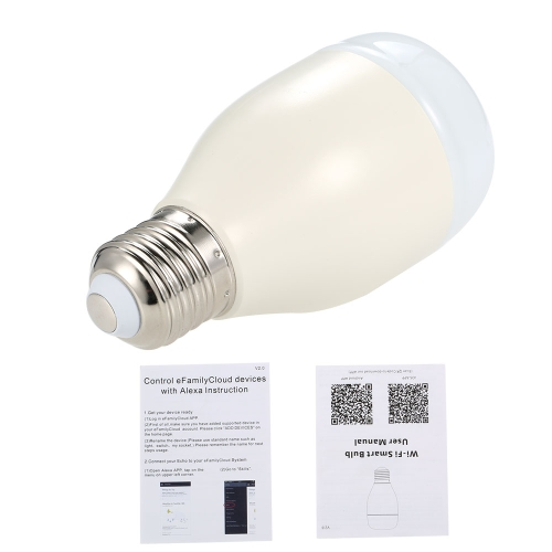 OWSOO Smart WiFi LED Light BulbSmart Device &amp; Safety<br>OWSOO Smart WiFi LED Light Bulb<br>