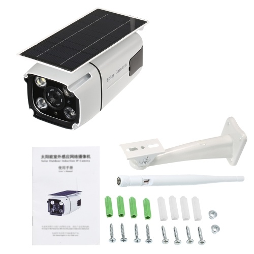 ワイヤレス1080P 2.0MPソーラーバッテリーパワーPIR監視セキュリティカメラ