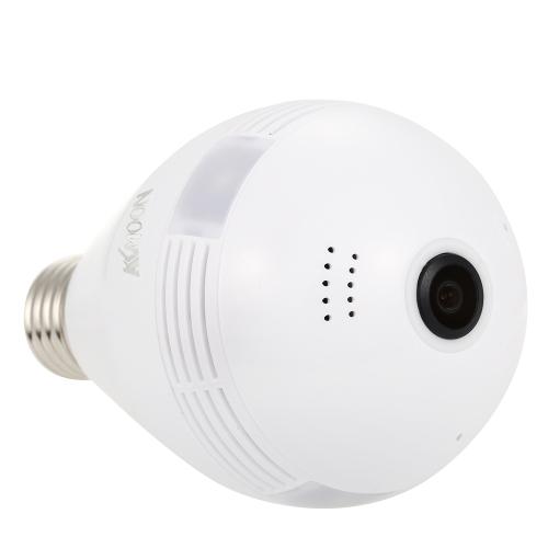 KKmoon Wireless 960PH (960 * 960) Telecamera panoramica Fish Eye