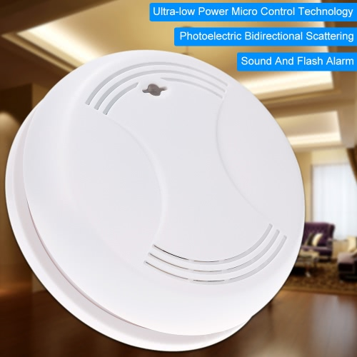 Wireless Smoke Detector Home Security Fire Alarm Sensor SystemSmart Device &amp; Safety<br>Wireless Smoke Detector Home Security Fire Alarm Sensor System<br>