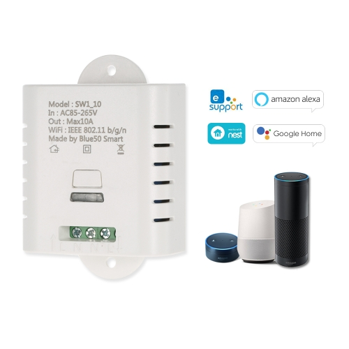 WIFI Smart Switch 10A Wireless Light Timer SwitchSmart Device &amp; Safety<br>WIFI Smart Switch 10A Wireless Light Timer Switch<br>