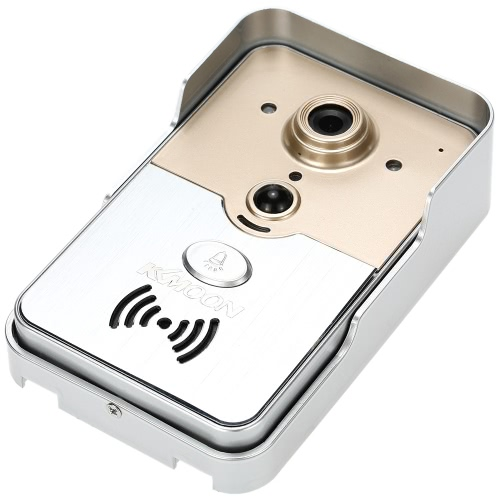 KKmoon HD 720P Doorbell P2P Wireless WIFI Video Door Phone Visual Intercom Remote Unlock Support TF Card Phone AccessSmart Device &amp; Safety<br>KKmoon HD 720P Doorbell P2P Wireless WIFI Video Door Phone Visual Intercom Remote Unlock Support TF Card Phone Access<br>