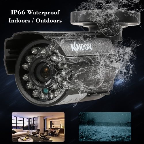 KKmoon  1200TVL CCTV Bullet Camera 24 IR Lamps Night Vision 1/3'' CMOS IR-CUT Waterproof For Home Security PAL SystemSmart Device &amp; Safety<br>KKmoon  1200TVL CCTV Bullet Camera 24 IR Lamps Night Vision 1/3'' CMOS IR-CUT Waterproof For Home Security PAL System<br>