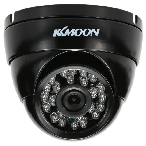 KKmoon  720P 1500TVL Dome AHD Surveillance Camera 1.0MP  3.6mm 1/4���� CMOS 24 IR Lamps Night Vision IR-CUT Waterproof Indoor Outdoor CCTV Security NTSC System