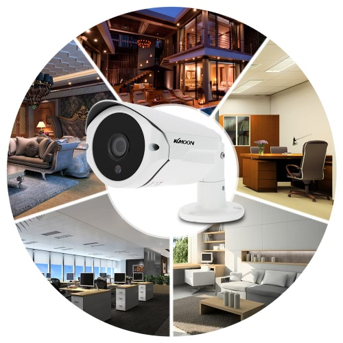 KKmoon  960P AHD Camera 1.3MP 3.6mm 1/3'' CMOS 36 IR LEDs Night Vision IR-CUT Waterproof Indoor Outdoor for CCTV Security NTSC SysSmart Device &amp; Safety<br>KKmoon  960P AHD Camera 1.3MP 3.6mm 1/3'' CMOS 36 IR LEDs Night Vision IR-CUT Waterproof Indoor Outdoor for CCTV Security NTSC Sys<br>