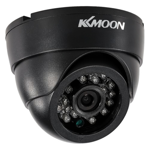 KKmoon  960P AHD Dome Surveillance Camera 1.3MP 3.6mm 1/3'' CMOS 24 IR LEDS Night Vision IR-CUT Indoor CCTV Security NTSC SystemSmart Device &amp; Safety<br>KKmoon  960P AHD Dome Surveillance Camera 1.3MP 3.6mm 1/3'' CMOS 24 IR LEDS Night Vision IR-CUT Indoor CCTV Security NTSC System<br>