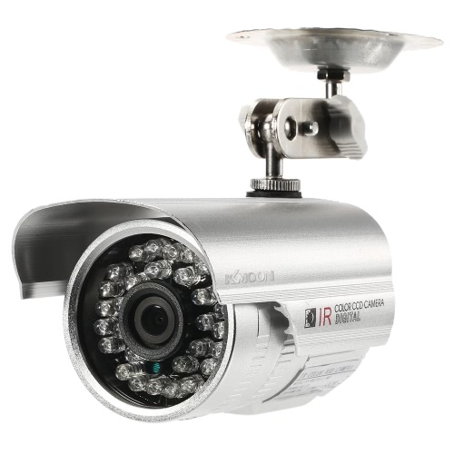 KKmoon  1080P AHD Bullet Analog Camera 2.0MP 3.6mm 1/2.7'' CMOS 30 IR LEDS Night Vision IR-CUT Weatherproof Indoor Outdoor CCTV SeSmart Device &amp; Safety<br>KKmoon  1080P AHD Bullet Analog Camera 2.0MP 3.6mm 1/2.7'' CMOS 30 IR LEDS Night Vision IR-CUT Weatherproof Indoor Outdoor CCTV Se<br>