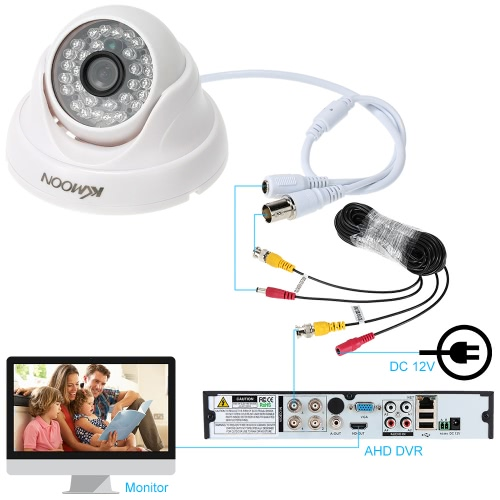 KKmoon HD 720P Security CCTV Camera IR-CUT Night Vision Home Surveillance PAL SystemSmart Device &amp; Safety<br>KKmoon HD 720P Security CCTV Camera IR-CUT Night Vision Home Surveillance PAL System<br>
