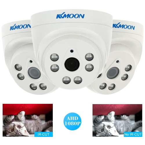 "KKmoon  1080P 2.0MP Dome AHD Surveillance Camera Analog CCTV Security Indoor 3.6mm 6 Array IR LEDS Night Vision 1/3"" CMOS IR-CUT PSmart Device &amp; Safety<br>KKmoon  1080P 2.0MP Dome AHD Surveillance Camera Analog CCTV Security Indoor 3.6mm 6 Array IR LEDS Night Vision 1/3"" CMOS IR-CUT P<br>"