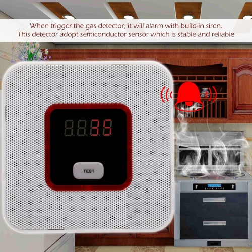 LCD Combustible Gas Leakage Alarm Sensor Tester Human Voice Warning Detector For Alarm SystemSmart Device &amp; Safety<br>LCD Combustible Gas Leakage Alarm Sensor Tester Human Voice Warning Detector For Alarm System<br>
