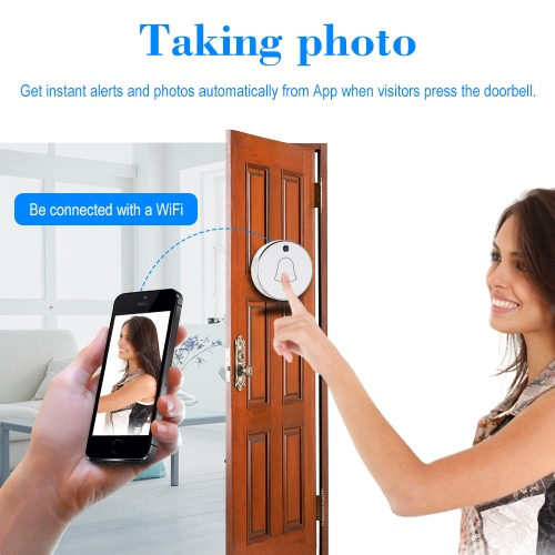 Wireless WiFi Mini Smart Local Storage DoorbellSmart Device &amp; Safety<br>Wireless WiFi Mini Smart Local Storage Doorbell<br>