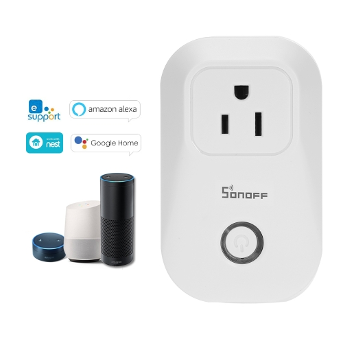 SONOFF S20 ITEAD Wifi Wireless Remote Control Socket US PlugSmart Device &amp; Safety<br>SONOFF S20 ITEAD Wifi Wireless Remote Control Socket US Plug<br>