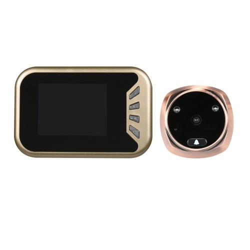 Главная Охранная камера Peephole Визуальная безопасность Дверной звонок
