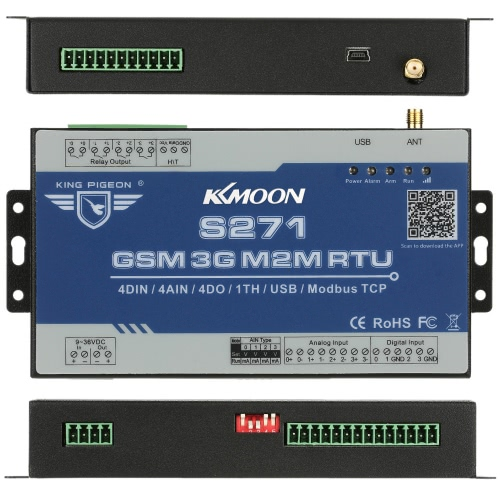 KKmoon 3G CDMA2000 Wireless GSM GPRS SMS Burglar Intruder Alarm System with Temperature and Humidity Sensor Home House Security 4cSmart Device &amp; Safety<br>KKmoon 3G CDMA2000 Wireless GSM GPRS SMS Burglar Intruder Alarm System with Temperature and Humidity Sensor Home House Security 4c<br>