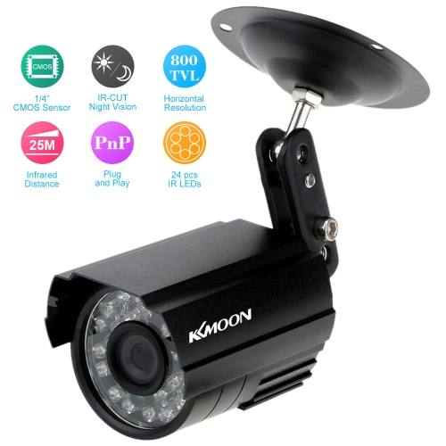 HD 800TVL 24 IR-LEDS CCTV Camera Home Security Day/Night Waterproof CameraSmart Device &amp; Safety<br>HD 800TVL 24 IR-LEDS CCTV Camera Home Security Day/Night Waterproof Camera<br>