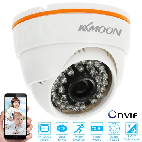 CCTV 720P IR LED Indoor ONVIF Security IP Dome CameraSmart Device &amp; Safety<br>CCTV 720P IR LED Indoor ONVIF Security IP Dome Camera<br>