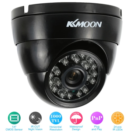 1000TVL  Wide Angle Metal Dome Outdoor CMOS CCTV Security CameraSmart Device &amp; Safety<br>1000TVL  Wide Angle Metal Dome Outdoor CMOS CCTV Security Camera<br>