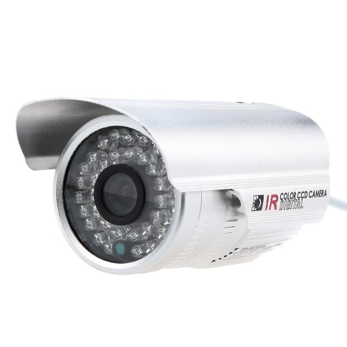CMOS 800TVL Outdoor/Indoor Night IR Weatherproof Security Bullet Camera for HomeSmart Device &amp; Safety<br>CMOS 800TVL Outdoor/Indoor Night IR Weatherproof Security Bullet Camera for Home<br>