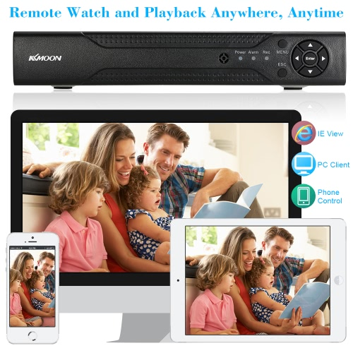 KKmoon 8 Channel 720P CCTV Network DVR H.264 HD Home Security System Motion DetectionSmart Device &amp; Safety<br>KKmoon 8 Channel 720P CCTV Network DVR H.264 HD Home Security System Motion Detection<br>