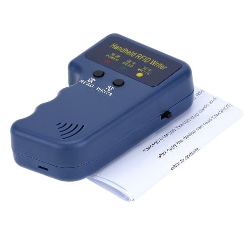 Portable Handheld 125KHz RFID ID Card Writer/Copier DuplicatorSmart Device &amp; Safety<br>Portable Handheld 125KHz RFID ID Card Writer/Copier Duplicator<br>