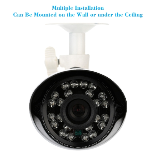 KKmoon 700TVL Bullet CCTV Security Camera Waterproof IR-CUT Day/Night Vision Home Surveillance NTSC SystemSmart Device &amp; Safety<br>KKmoon 700TVL Bullet CCTV Security Camera Waterproof IR-CUT Day/Night Vision Home Surveillance NTSC System<br>