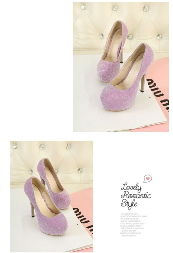 New Women High Heels Candy Color Platform Sole Pointed Heel Low Cut Pumps PinkApparel &amp; Jewelry<br>New Women High Heels Candy Color Platform Sole Pointed Heel Low Cut Pumps Pink<br>
