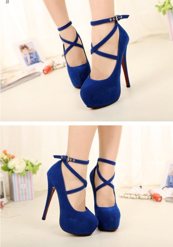 New Fashion Women Pumps Concealed Platform Strappy Buckle Stiletto High Heels Party ShoesApparel &amp; Jewelry<br>New Fashion Women Pumps Concealed Platform Strappy Buckle Stiletto High Heels Party Shoes<br>