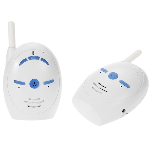 2.4GHz Wireless Infant Baby Audio Monitor Support 2-way Audio Voice Monitoring Crying Alarm for Baby Safety SecuritySmart Device &amp; Safety<br>2.4GHz Wireless Infant Baby Audio Monitor Support 2-way Audio Voice Monitoring Crying Alarm for Baby Safety Security<br>