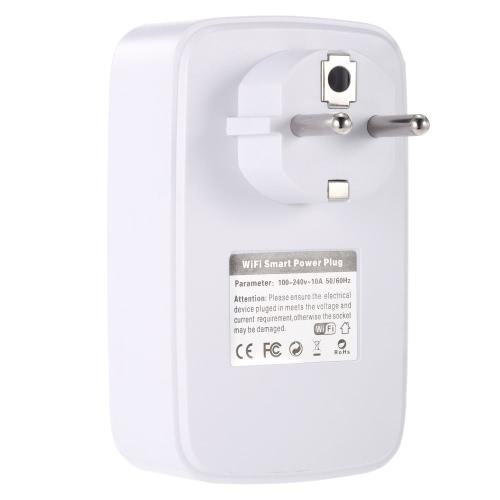 WiFi Smart Socket Wireless Outlet US PlugSmart Device &amp; Safety<br>WiFi Smart Socket Wireless Outlet US Plug<br>