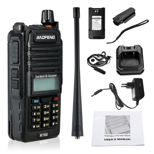 BaoFeng  128CH Dual Band VHF 136-174MHz&amp;UHF 400-520MHz Talkie Walkie Transceiver 2-way Radio Portable Handheld Waterproof  InterphSmart Device &amp; Safety<br>BaoFeng  128CH Dual Band VHF 136-174MHz&amp;UHF 400-520MHz Talkie Walkie Transceiver 2-way Radio Portable Handheld Waterproof  Interph<br>