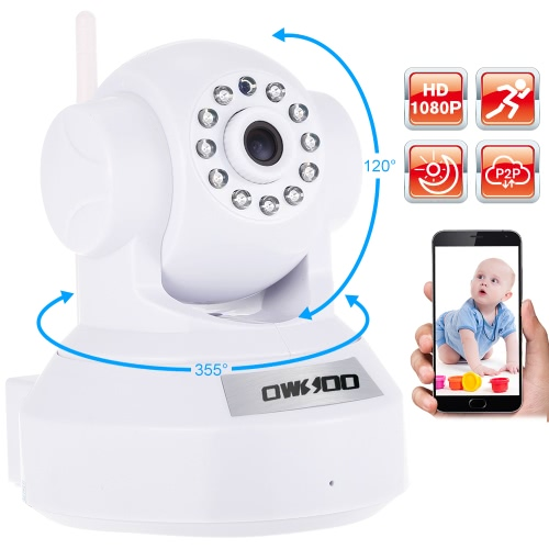 OWSOO 1080P Wireless WIFI HD IP Camera Baby MonitorSmart Device &amp; Safety<br>OWSOO 1080P Wireless WIFI HD IP Camera Baby Monitor<br>