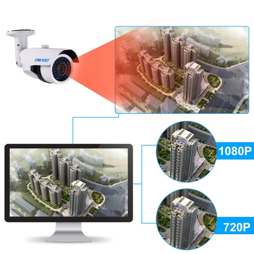 OWSOO 4*1080P  AHD IR CCTV Camera + 4*60ft  CableSmart Device &amp; Safety<br>OWSOO 4*1080P  AHD IR CCTV Camera + 4*60ft  Cable<br>