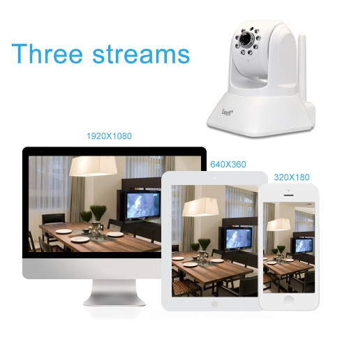EasyN 1080P Wireless WIFI Pan Tilt HD IP CameraSmart Device &amp; Safety<br>EasyN 1080P Wireless WIFI Pan Tilt HD IP Camera<br>