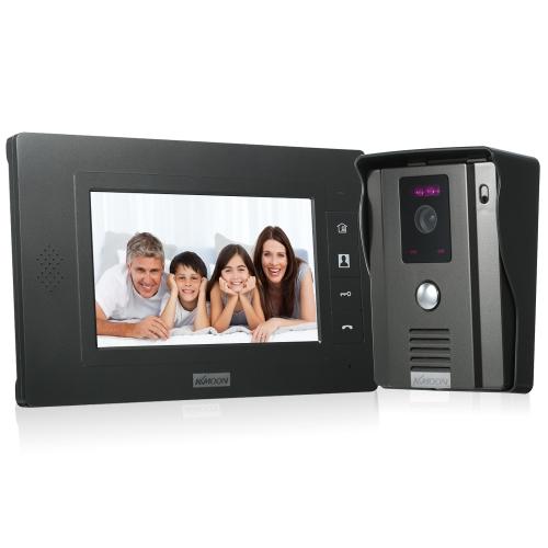 KKmoon 7 inch Wired Video DoorbellSmart Device &amp; Safety<br>KKmoon 7 inch Wired Video Doorbell<br>