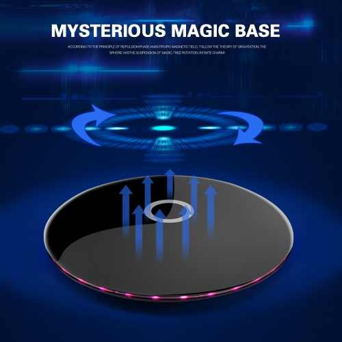 Portable LED Magnetic Levitation BT Speaker for Phone Computer Mini Audio Wireless Stereo SoundSmart Device &amp; Safety<br>Portable LED Magnetic Levitation BT Speaker for Phone Computer Mini Audio Wireless Stereo Sound<br>