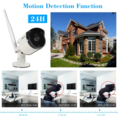 KKmoon 4 Channel 720P Wireless WiFi NVR CCTV System KitSmart Device &amp; Safety<br>KKmoon 4 Channel 720P Wireless WiFi NVR CCTV System Kit<br>