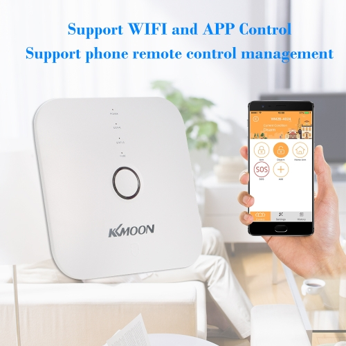 KKmoon 433MHz Wireless WIFI Alarm Security SystemSmart Device &amp; Safety<br>KKmoon 433MHz Wireless WIFI Alarm Security System<br>