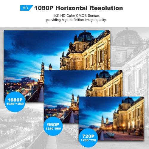 1080P HD Bullet Camera Weatherproof IP Camera Wireless WIFI Built-in Sound Pick-up 36pcs Infrared LED Lights Support Phone APP ConSmart Device &amp; Safety<br>1080P HD Bullet Camera Weatherproof IP Camera Wireless WIFI Built-in Sound Pick-up 36pcs Infrared LED Lights Support Phone APP Con<br>
