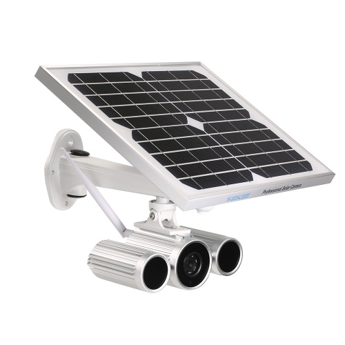 Telecamera IP wireless HD 1080P WiFi Solar & Battery Bullet Power