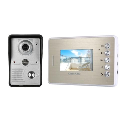 OWSOO 4.3Inch Color TFT LCD Video Door Phone