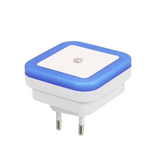 Mini nouveauté carrée lampe de chambre à coucher contrôle de la lumière veilleuse