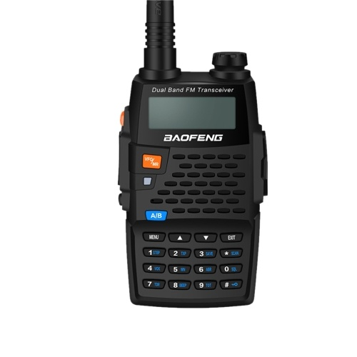 BAOFENG Pofung Walkie-Talkie BF-UV-5R 4 Generation Black Knight Zwei-Wege-Radio 136-174 / 400-520 MHz VHF / UHF Dual-Band-Handheld-Radio-Transceiver