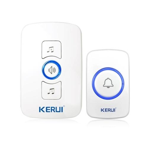 KERUI M525 Wireless Doorbell System Waterproof Transmitter