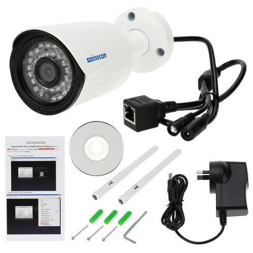 szsinocam HD Megapixels 720P 2.4G/5.8G Wireless Wifi Camera + 8G TF Card CCTV Surveillance Security P2P Network IP Cloud Indoor OuSmart Device &amp; Safety<br>szsinocam HD Megapixels 720P 2.4G/5.8G Wireless Wifi Camera + 8G TF Card CCTV Surveillance Security P2P Network IP Cloud Indoor Ou<br>