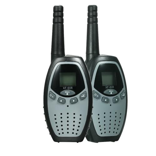 2PCS Walkie Talkies with PTT/VOX XFC 8CH 2 Way Radios Communicator