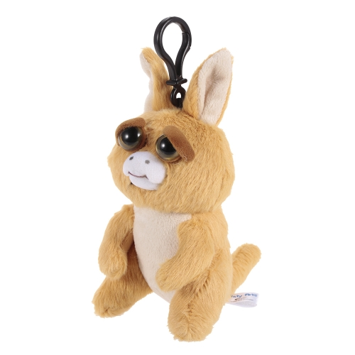 Feisty Pets Mini Kangroo Keychains Adorable Plush Stuffed Toy Turns Feisty with a SqueezeToys &amp; Hobbies<br>Feisty Pets Mini Kangroo Keychains Adorable Plush Stuffed Toy Turns Feisty with a Squeeze<br>