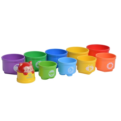 GOODWAY G108 Stacking Cups Learning Count Number Tower Bath Toys Toddlers Early Educational   StackerToys &amp; Hobbies<br>GOODWAY G108 Stacking Cups Learning Count Number Tower Bath Toys Toddlers Early Educational   Stacker<br>